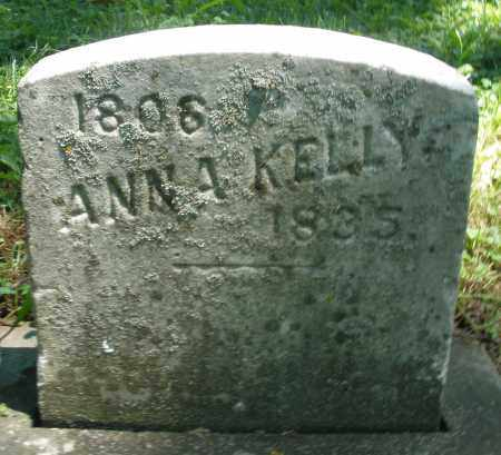KELLY, ANNA - Warren County, Ohio | ANNA KELLY - Ohio Gravestone Photos