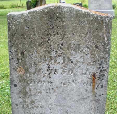 KELSEY, ? - Warren County, Ohio   ? KELSEY - Ohio Gravestone Photos