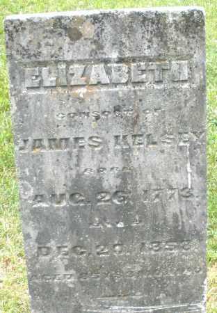 KELSEY, ELIZABETH - Warren County, Ohio   ELIZABETH KELSEY - Ohio Gravestone Photos