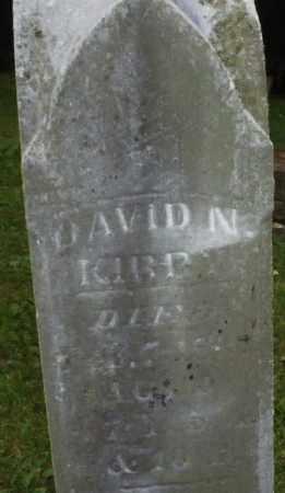 KIRBY, DAVID N. - Warren County, Ohio | DAVID N. KIRBY - Ohio Gravestone Photos