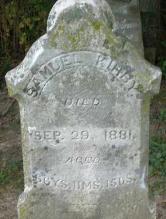 KIRBY, SAMUEL - Warren County, Ohio | SAMUEL KIRBY - Ohio Gravestone Photos