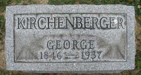 KIRCHENBERGER, GEORGE - Warren County, Ohio   GEORGE KIRCHENBERGER - Ohio Gravestone Photos