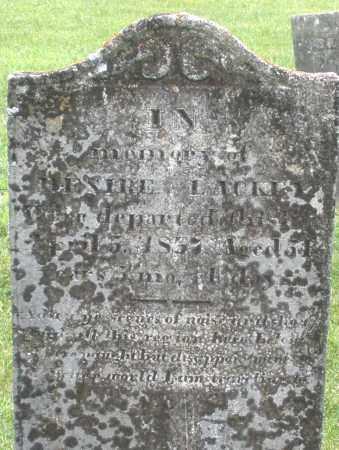 LACKEY, HESIRE - Warren County, Ohio   HESIRE LACKEY - Ohio Gravestone Photos