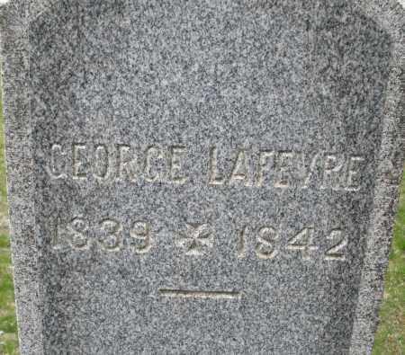 LAFEVRE, GEORGE - Warren County, Ohio | GEORGE LAFEVRE - Ohio Gravestone Photos