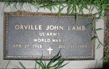 LAMB, ORVILLE JOHN - Warren County, Ohio | ORVILLE JOHN LAMB - Ohio Gravestone Photos