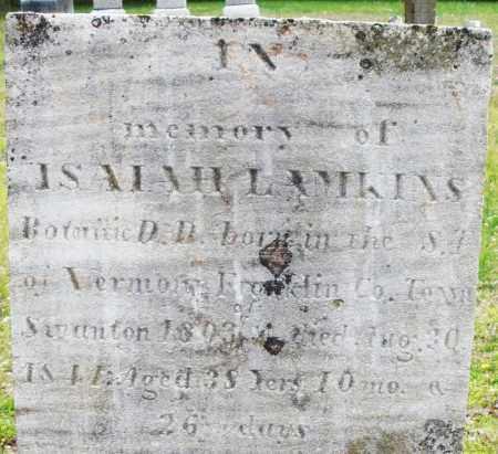 LAMKINS, ISAIAH - Warren County, Ohio | ISAIAH LAMKINS - Ohio Gravestone Photos