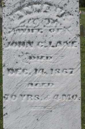 LANE, ANNE V. - Warren County, Ohio | ANNE V. LANE - Ohio Gravestone Photos