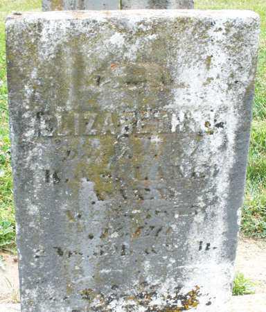 LANE, ELIZABETH - Warren County, Ohio | ELIZABETH LANE - Ohio Gravestone Photos