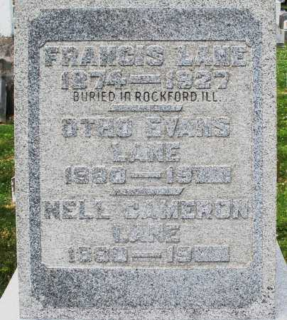 CAMERON LANE, NELL - Warren County, Ohio | NELL CAMERON LANE - Ohio Gravestone Photos