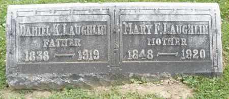 LAUGHLIN, MARY F. - Warren County, Ohio | MARY F. LAUGHLIN - Ohio Gravestone Photos