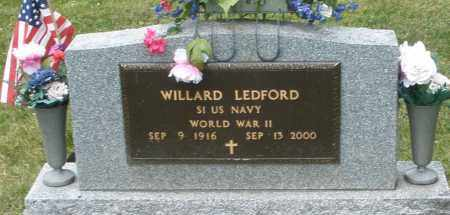 LEDFORD, WILLARD - Warren County, Ohio | WILLARD LEDFORD - Ohio Gravestone Photos