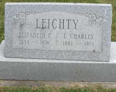 LEICHTY, L. CHARLES - Warren County, Ohio | L. CHARLES LEICHTY - Ohio Gravestone Photos
