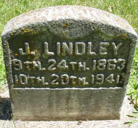 LINDLEY, J. - Warren County, Ohio | J. LINDLEY - Ohio Gravestone Photos