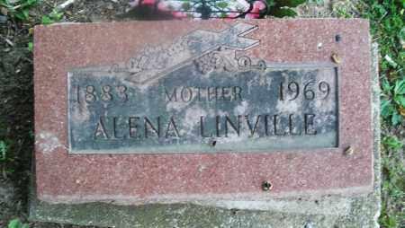 LINVILLE, ALENA - Warren County, Ohio   ALENA LINVILLE - Ohio Gravestone Photos