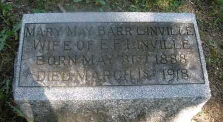 LINVILLE, MARY MAY - Warren County, Ohio | MARY MAY LINVILLE - Ohio Gravestone Photos