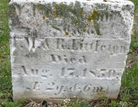 LITTLETON, WILLIAM SHANNON - Warren County, Ohio   WILLIAM SHANNON LITTLETON - Ohio Gravestone Photos