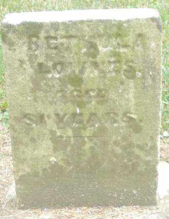 LOWNES, BETSULA ? - Warren County, Ohio | BETSULA ? LOWNES - Ohio Gravestone Photos