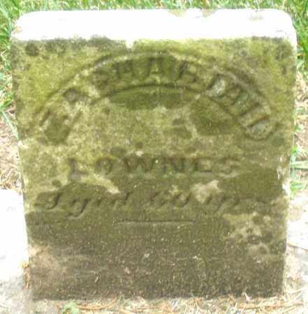 LOWNES, ZACHARIAH - Warren County, Ohio | ZACHARIAH LOWNES - Ohio Gravestone Photos