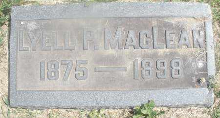 MACLEAN, LYELL P. - Warren County, Ohio | LYELL P. MACLEAN - Ohio Gravestone Photos