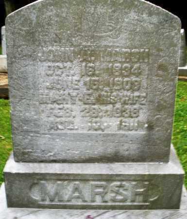 MARSH, MARY E. - Warren County, Ohio | MARY E. MARSH - Ohio Gravestone Photos