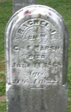 MARSH, RACHEL J. - Warren County, Ohio   RACHEL J. MARSH - Ohio Gravestone Photos