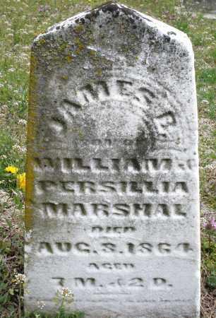 MARSHALL, JAMES  B. - Warren County, Ohio   JAMES  B. MARSHALL - Ohio Gravestone Photos