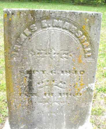 MARSHALL, JAMES E. - Warren County, Ohio | JAMES E. MARSHALL - Ohio Gravestone Photos