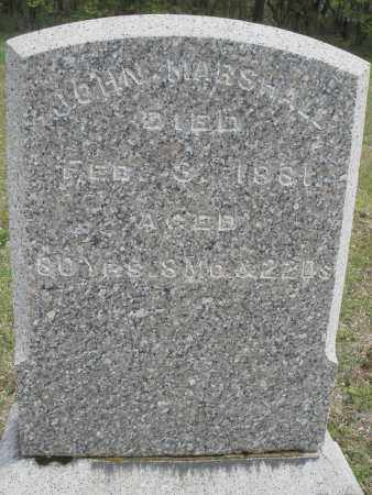 MARSHALL, JOHN - Warren County, Ohio   JOHN MARSHALL - Ohio Gravestone Photos
