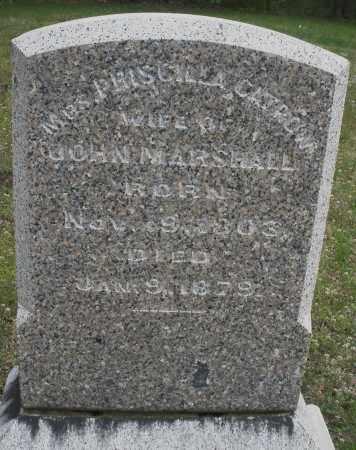 CATROW MARSHALL, PRISCILLA - Warren County, Ohio | PRISCILLA CATROW MARSHALL - Ohio Gravestone Photos