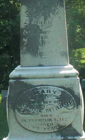 MC AROY, WILLIAM B. DR. - Warren County, Ohio | WILLIAM B. DR. MC AROY - Ohio Gravestone Photos