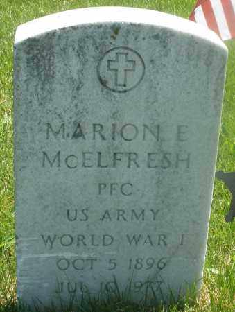 MC ELFRESH, MARION E. - Warren County, Ohio | MARION E. MC ELFRESH - Ohio Gravestone Photos