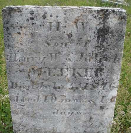 MEEKER, H.W. - Warren County, Ohio | H.W. MEEKER - Ohio Gravestone Photos