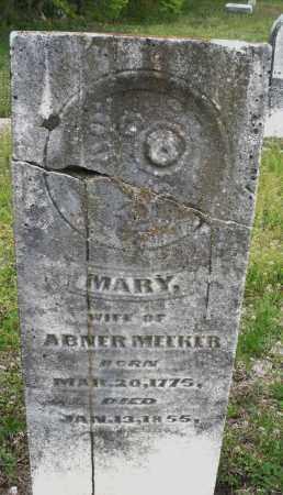 MEEKER, MARY - Warren County, Ohio | MARY MEEKER - Ohio Gravestone Photos