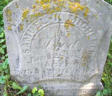 MICHENER, SAMUEL - Warren County, Ohio | SAMUEL MICHENER - Ohio Gravestone Photos