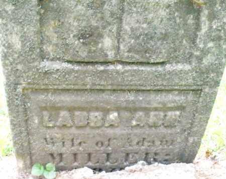 MILLER, LABBA ANN - Warren County, Ohio | LABBA ANN MILLER - Ohio Gravestone Photos