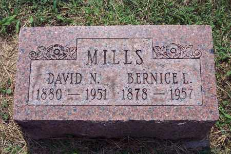 MILLS, DAVID - Warren County, Ohio | DAVID MILLS - Ohio Gravestone Photos