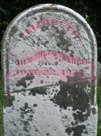 MILTENBERGER, ELIZABETH - Warren County, Ohio | ELIZABETH MILTENBERGER - Ohio Gravestone Photos