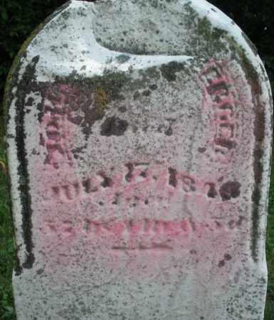 MILTENBERGER, JOHN - Warren County, Ohio | JOHN MILTENBERGER - Ohio Gravestone Photos