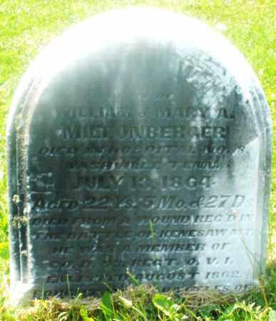 MILTONBERGER, JOHN WILLIAM - Warren County, Ohio   JOHN WILLIAM MILTONBERGER - Ohio Gravestone Photos