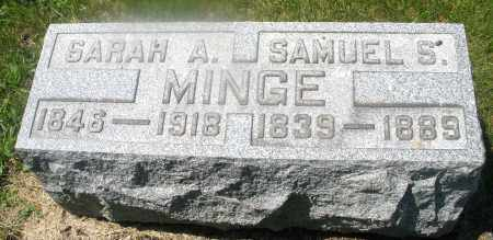 MINGE, SAMUEL S. - Warren County, Ohio | SAMUEL S. MINGE - Ohio Gravestone Photos