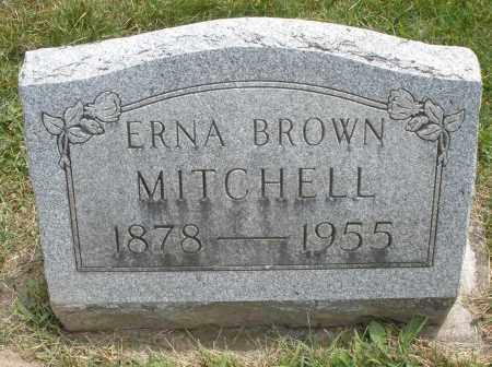 BROWN MITCHELL, ERNA - Warren County, Ohio | ERNA BROWN MITCHELL - Ohio Gravestone Photos