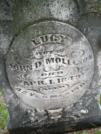 MOLLESON, LUCY - Warren County, Ohio | LUCY MOLLESON - Ohio Gravestone Photos