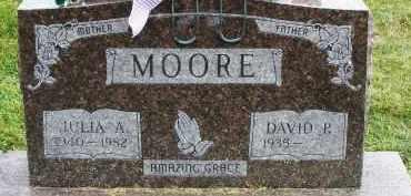 MOORE, JULIA A. - Warren County, Ohio | JULIA A. MOORE - Ohio Gravestone Photos