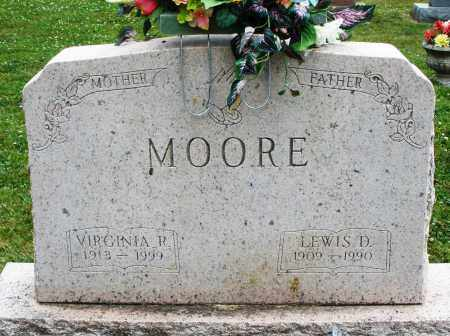 MOORE, LEWIS D. - Warren County, Ohio | LEWIS D. MOORE - Ohio Gravestone Photos