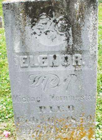 MORNINGSTAR, ELENOR - Warren County, Ohio | ELENOR MORNINGSTAR - Ohio Gravestone Photos