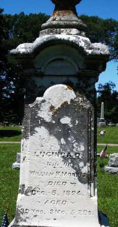 MORRIS, LUCINDA - Warren County, Ohio | LUCINDA MORRIS - Ohio Gravestone Photos