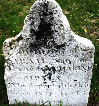 MOSES, HIRAM - Warren County, Ohio   HIRAM MOSES - Ohio Gravestone Photos