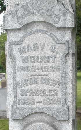 MOUNT SPANGLER, CARRIE - Warren County, Ohio | CARRIE MOUNT SPANGLER - Ohio Gravestone Photos