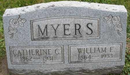 MYERS, WILLIAM E. - Warren County, Ohio | WILLIAM E. MYERS - Ohio Gravestone Photos
