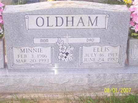 ALLEN OLDHAM, MINNIE EUNICE - Warren County, Ohio | MINNIE EUNICE ALLEN OLDHAM - Ohio Gravestone Photos